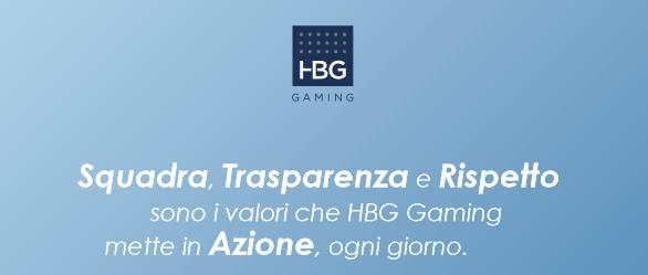 Values, Vision and Mission - HBG Gaming | HBG Gaming